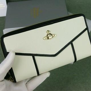 ヴィヴィアンウエストウッド(Vivienne Westwood)のヴィヴィアンウエストウッド白長財布美品(財布)