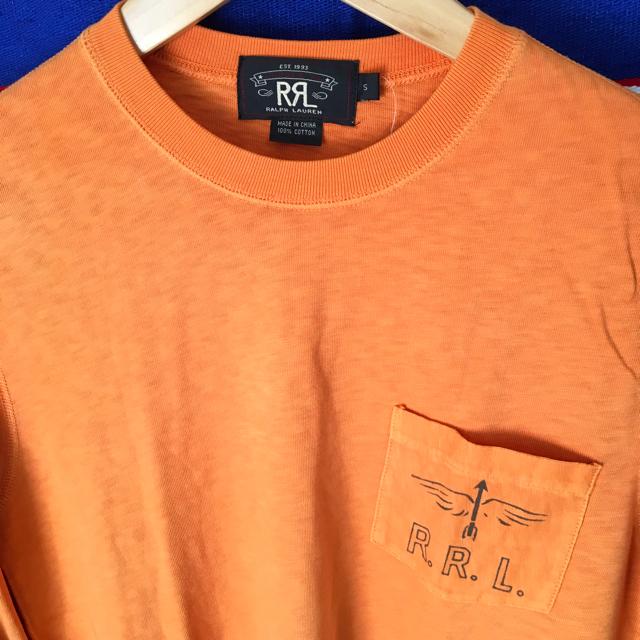RRL(ダブルアールエル)のRRLダブルアールエルUS限定ビンテージ ロングスリーブTシャツS メンズのトップス(Tシャツ/カットソー(七分/長袖))の商品写真