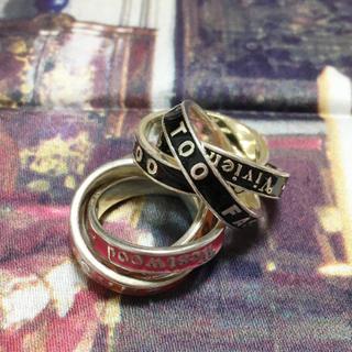 ヴィヴィアンウエストウッド(Vivienne Westwood)のsale! Vivienne 三連リング(リング(指輪))