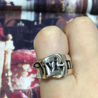 ヴィヴィアンウエストウッド(Vivienne Westwood)の美品 Vivienne ベルトリング(リング(指輪))