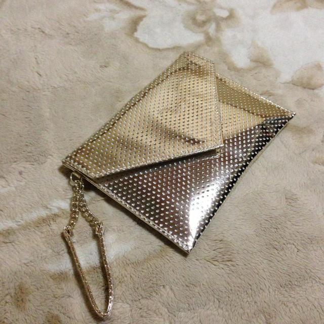 Estee Lauder(エスティローダー)のエスティローダーのポーチ ゴールド レディースのファッション小物(ポーチ)の商品写真