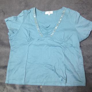 キラキラカットソー(Tシャツ(半袖/袖なし))