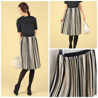 デミルクスビームス(Demi-Luxe BEAMS)のshiori様 Demi luxe beams プリーツスカート+2点(ひざ丈スカート)
