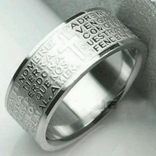 ❤300円アクセ❗プレゼントにも❗❗クロスリング⭐チェーンネックレス付き(リング(指輪))