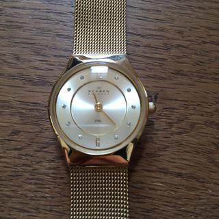スカーゲン(SKAGEN)のスカーゲンゴールド腕時計(腕時計)
