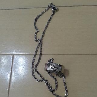 ドルチェアンドガッバーナ(DOLCE&GABBANA)のドルガバ!指輪、ネック付き!正規品(リング(指輪))