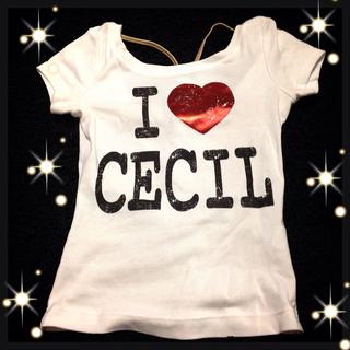 セシルマクビー(CECIL McBEE)のセシル Tシャツ(Tシャツ(半袖/袖なし))