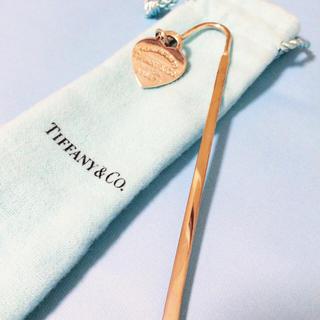 ティファニー(Tiffany & Co.)の【限界値下げ】Tiffany ブックマーク(しおり/ステッカー)
