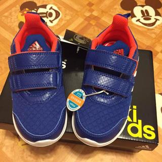 アディダス(adidas)の新品 キッズ 16cm アディダス(スニーカー)