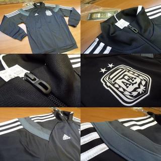 アディダス(adidas)のL 黒)アディダス トラックジャケット アルゼンチン代表 AH052(ウェア)