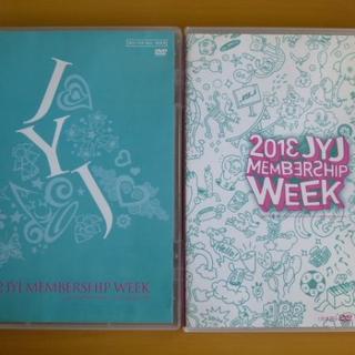 ジェイワイジェイ(JYJ)のDVD 2本セット JYJ MEMBERSHIP WEEK 2012+2013(その他)