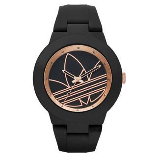 アディダス(adidas)の新品 adidas 腕時計 ユニセックス ADH3086 ブラックローズゴールド(腕時計(アナログ))