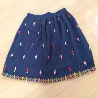 ニーナミュウ(Nina mew)のnina mew 薔薇スカート(ミニスカート)