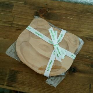 ムジルシリョウヒン(MUJI (無印良品))のam様専用❄新品未使用木製プレート 離乳食(プレート/茶碗)