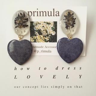 Lavender earrings(イヤリング)