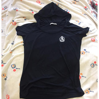 MiXT フード付き シャツ カットソー(カットソー(半袖/袖なし))