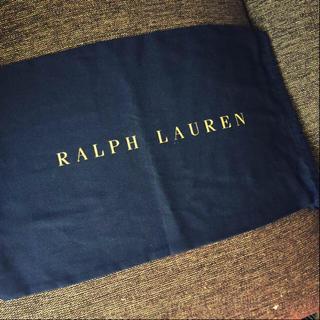 ポロラルフローレン(POLO RALPH LAUREN)の新品同様✴︎RALPH LAURENラルフローレン✴︎保存袋✴︎ネイビー✴︎(その他)