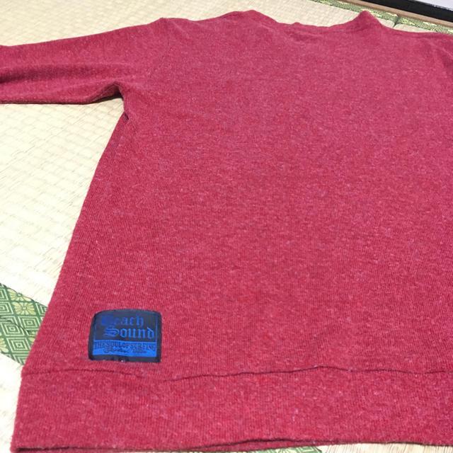 BEACH SOUND(ビーチサウンド)の赤のメンズセーター(ビーチサウンド) メンズのトップス(ニット/セーター)の商品写真