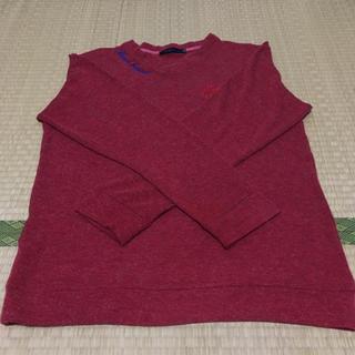 ビーチサウンド(BEACH SOUND)の赤のメンズセーター(ビーチサウンド)(ニット/セーター)