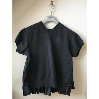 サカイ(sacai)のsacai×NIKE フリースTシャツ(トレーナー/スウェット)
