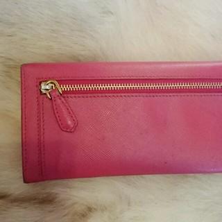 PRADA(プラダ)のサフィアーノ ピンク 長財布  レディースのファッション小物(財布)の商品写真
