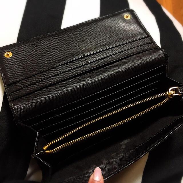 PRADA(プラダ)のsayaka様専用♡ プラダ サファイアーノリボン 長財布 レディースのファッション小物(財布)の商品写真