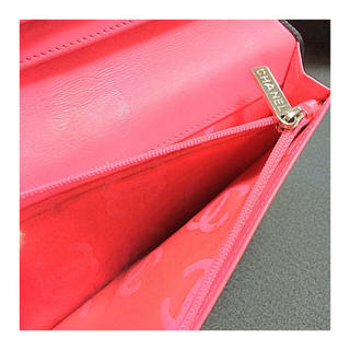CHANEL(シャネル)のシャネル 長財布 カンボンライン 付属品全部付き レディースのファッション小物(財布)の商品写真