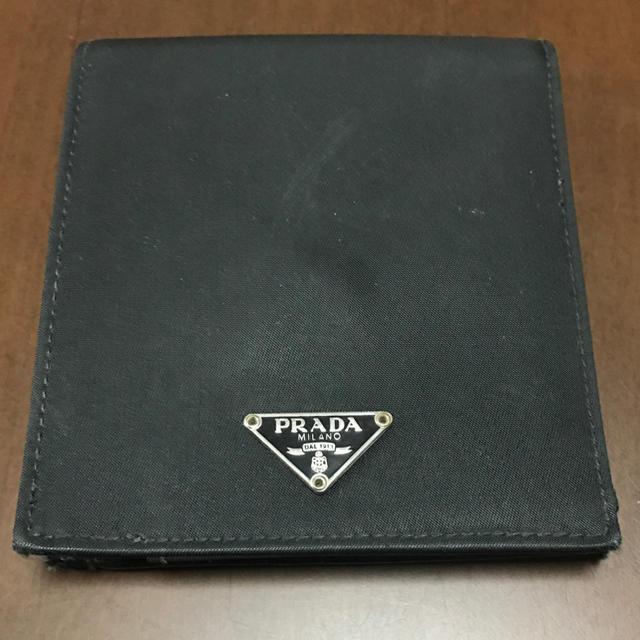 PRADA(プラダ)のPRADA 二つ折り財布 レディースのファッション小物(財布)の商品写真
