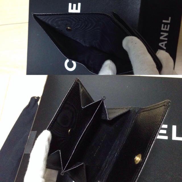 CHANEL(シャネル)の❗️正規品 シャネル Wホック 財布❗️ レディースのファッション小物(財布)の商品写真