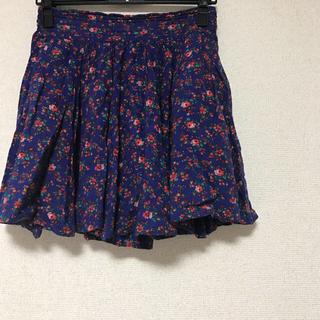 ローリーズファーム(LOWRYS FARM)の花柄フレアスカート♡(ミニスカート)
