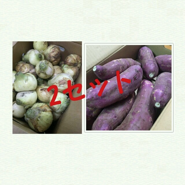 熊本県産☆新玉ねぎ5キロ&紅はるか5キロセット☆ 食品/飲料/酒の食品(野菜)の商品写真