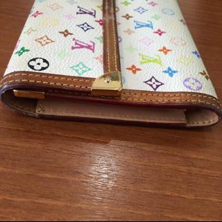 LOUIS VUITTON(ルイヴィトン)のルイヴィトン マルチカラー 白 TH0096 レディースのファッション小物(財布)の商品写真