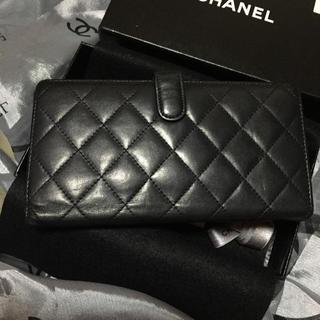 CHANEL(シャネル)のセール❤️シャネルカンボンライン長財布 レディースのファッション小物(財布)の商品写真