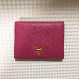 PRADA(プラダ)のPRADA ♡ 二つ折り財布 レディースのファッション小物(財布)の商品写真