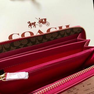 COACH(コーチ)のcoach長財布52648 正規品 新品 即日発送 レディースのファッション小物(財布)の商品写真