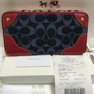COACH(コーチ)のcoach長財布53769 正規品 新品 即日発送 レディースのファッション小物(財布)の商品写真