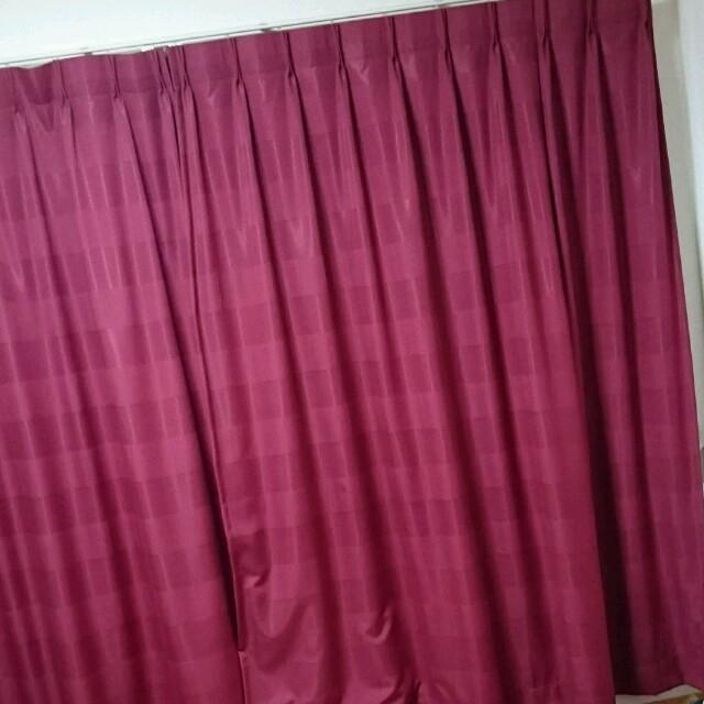 オーダーカーテン ニトリ ニッセン フランフラン 無印良品 インテリア/住まい/日用品のカーテン/ブラインド(カーテン)の商品写真