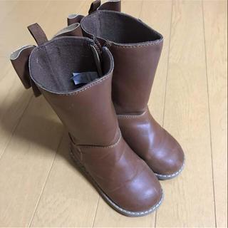 ベビーギャップ(babyGAP)の♡♡13.5cm babyGAP  リボン付きロングブーツ♡♡(ブーツ)