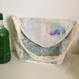 アッシュペーフランス(H.P.FRANCE)のsina 、sina suien シナスイエン 刺繍 バッグ(ショルダーバッグ)