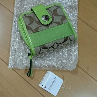 コーチ(COACH)の★新品★COACH二つ折財布(財布)