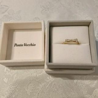 ポンテヴェキオ(PonteVecchio)のPonte Vecchio 8号 18K ダイヤモンド ピンクゴールドリング(リング(指輪))