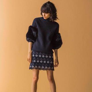 マーキュリーデュオ(MERCURYDUO)の石原さとみ着用!カラーレースタイトスカート♡MERCURYDUO マーキュリー(ミニスカート)