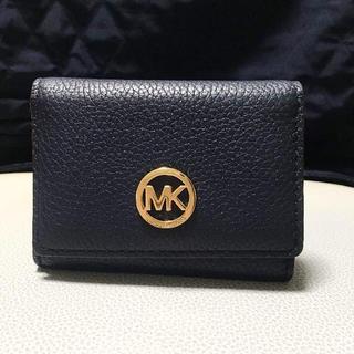 マイケルコース(Michael Kors)の美品 マイケルコース 定期 カード入れ(名刺入れ/定期入れ)