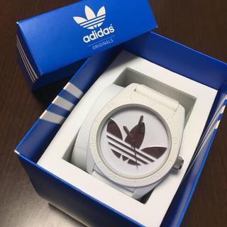 アディダス(adidas)のadidas 時計 シルバー(腕時計)