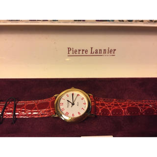 ピエールラニエ(Pierre Lannier)の未使用♡Pierre Lamnier 腕時計(腕時計)