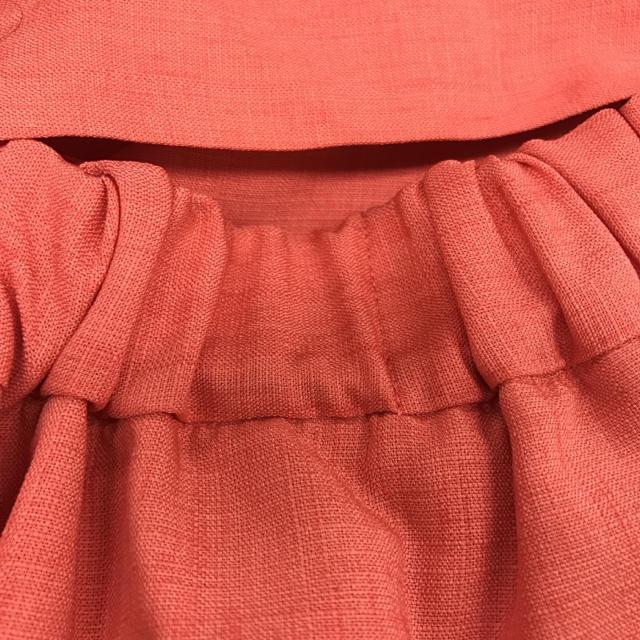 ViS(ヴィス)の【1度着】vis ピンク サマースカート レディースのスカート(ひざ丈スカート)の商品写真