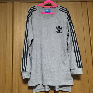 アディダス(adidas)の【美品】adidas originals☆3本ライン ロンT(Tシャツ/カットソー(七分/長袖))