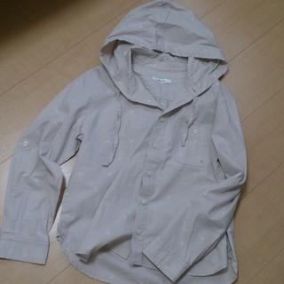 ニコアンド(niko and...)のniko and…*フード付きシャツ(シャツ/ブラウス(長袖/七分))