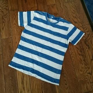 ユニクロ(UNIQLO)のUNIQLO  マリンボーダーTシャツ(Tシャツ/カットソー(半袖/袖なし))