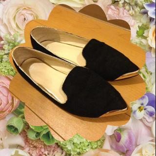 フラットシューズ(ローファー/革靴)